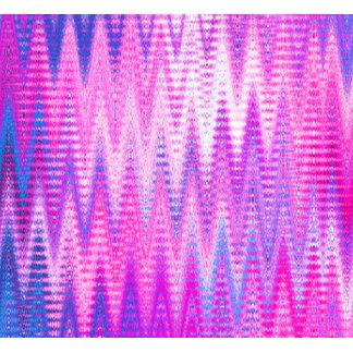 Pink Chevron Pattern