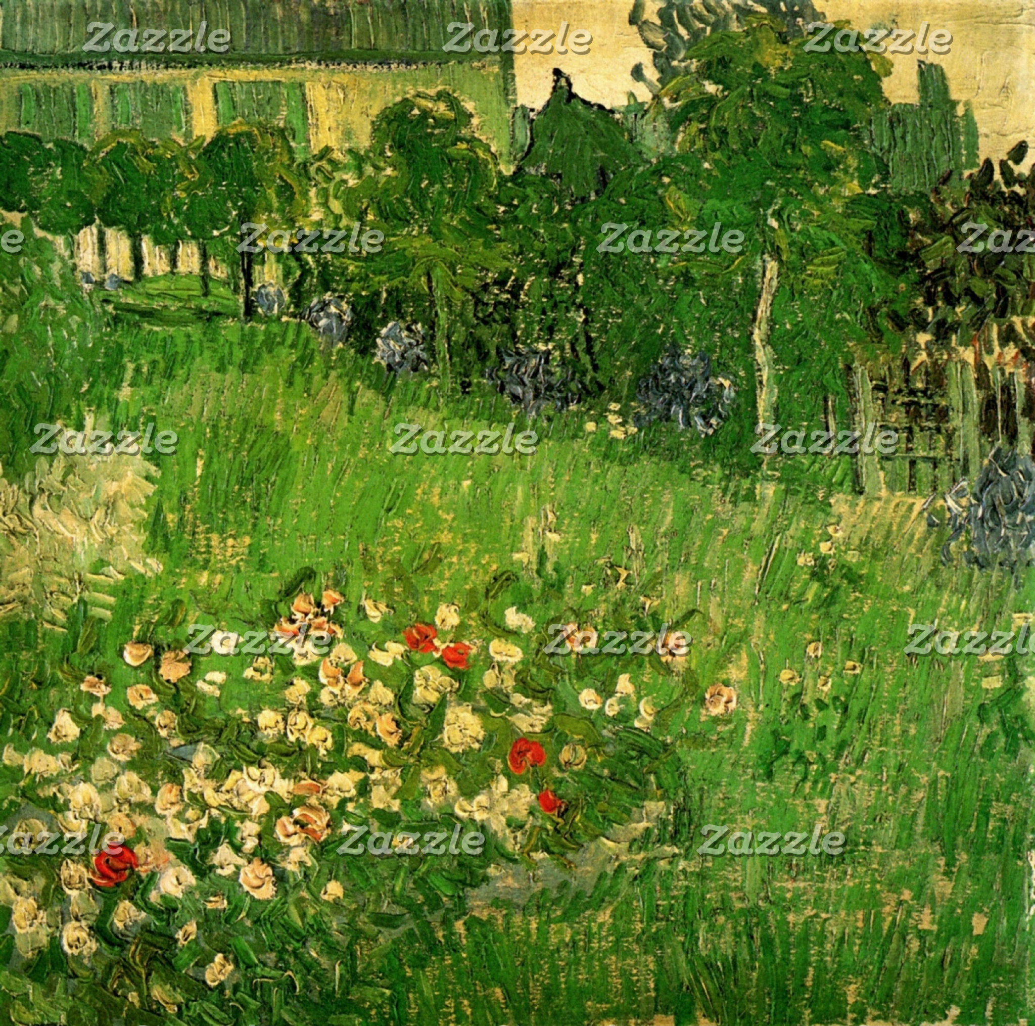 Gardens by Vincent van Gogh
