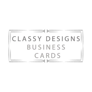Classy business cards