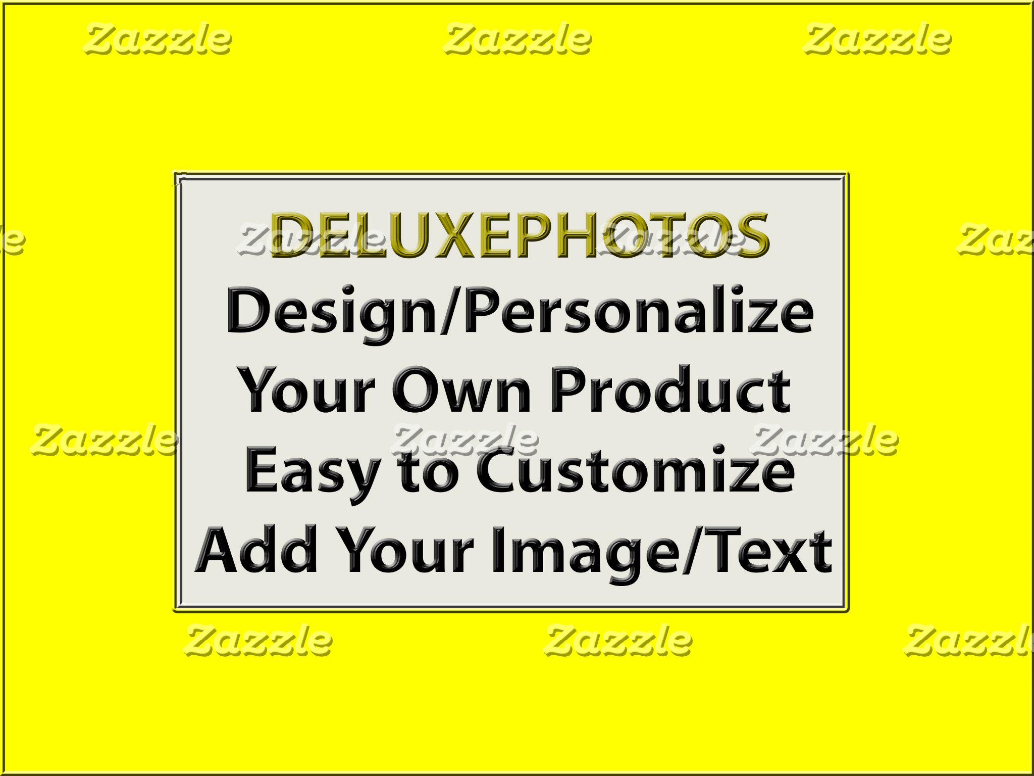 Personalize Your Own