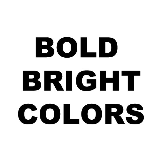 * Bold Bright * Color Mix
