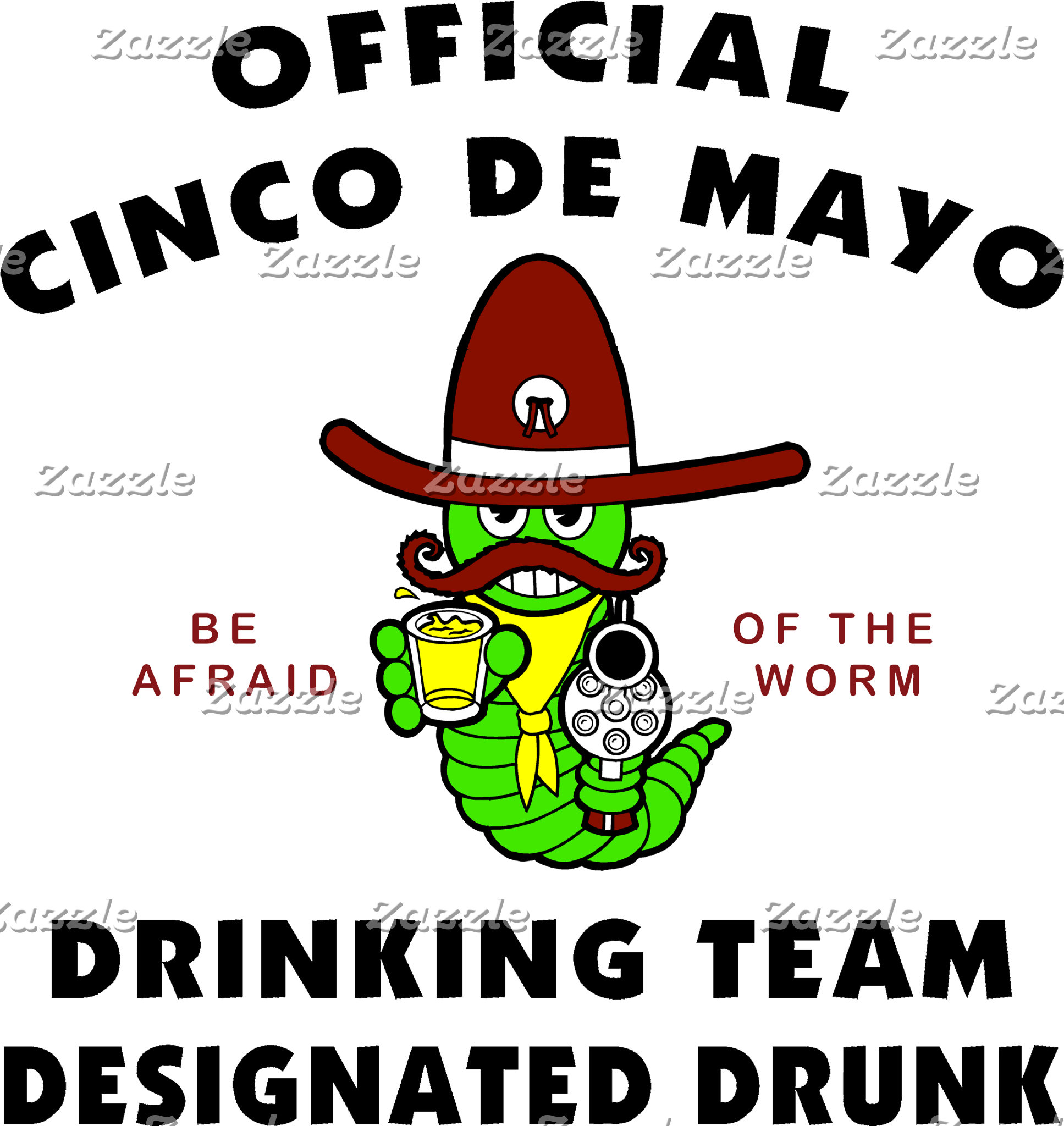 Cinco de Mayo Designated Drunk T-Shirt Gift