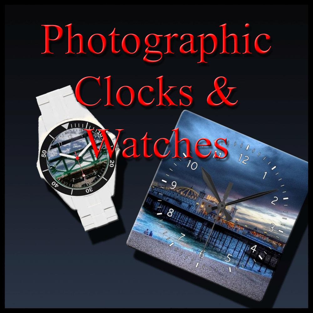 Photographic Clocks & Watches