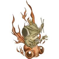 煌々蛙02
