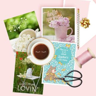 CARDS & INVITATIONS & POSTAGE