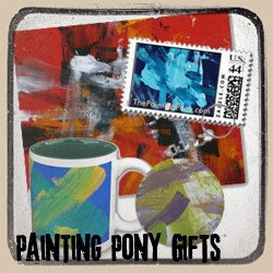 Painting Pony Painting Gifts