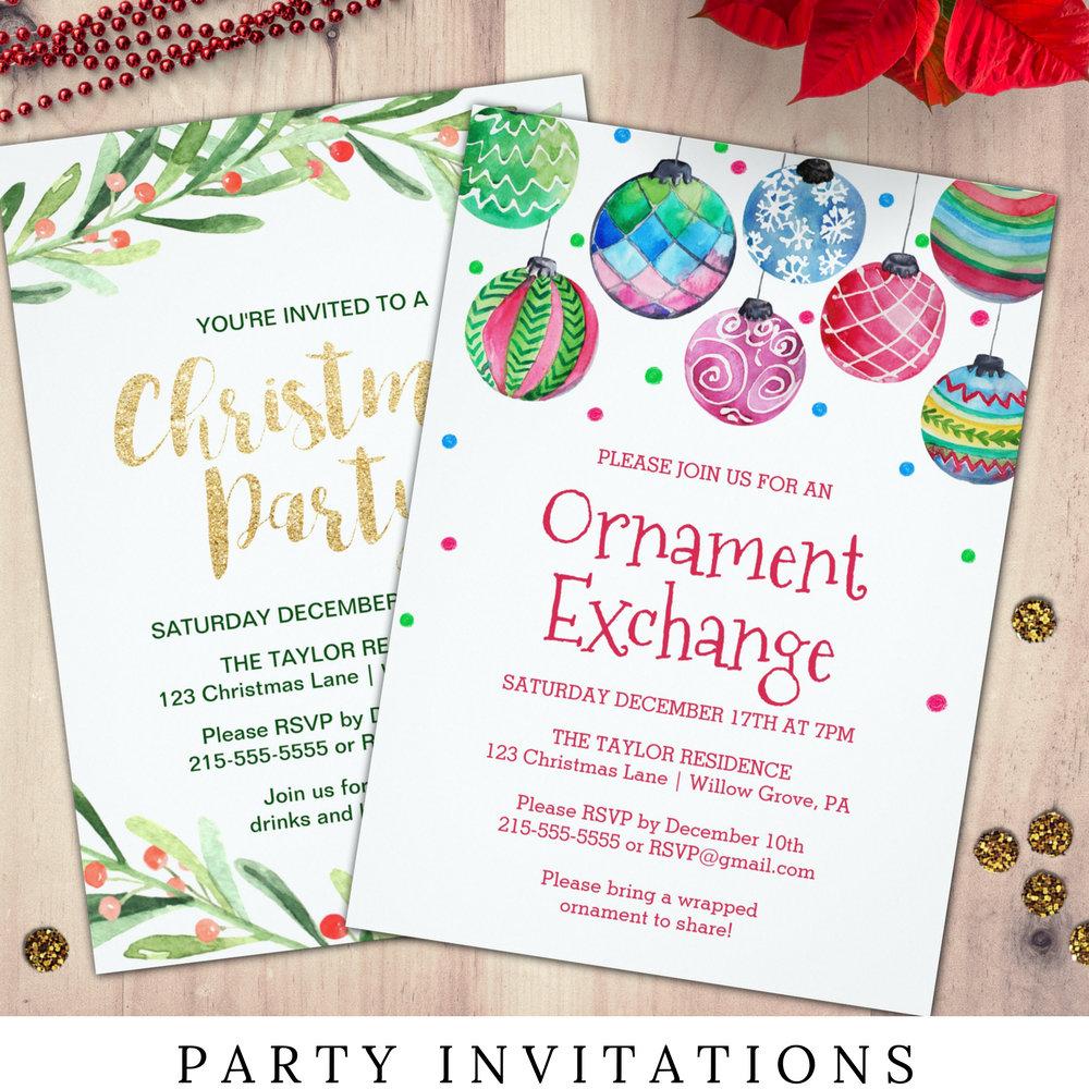 Party Invitations