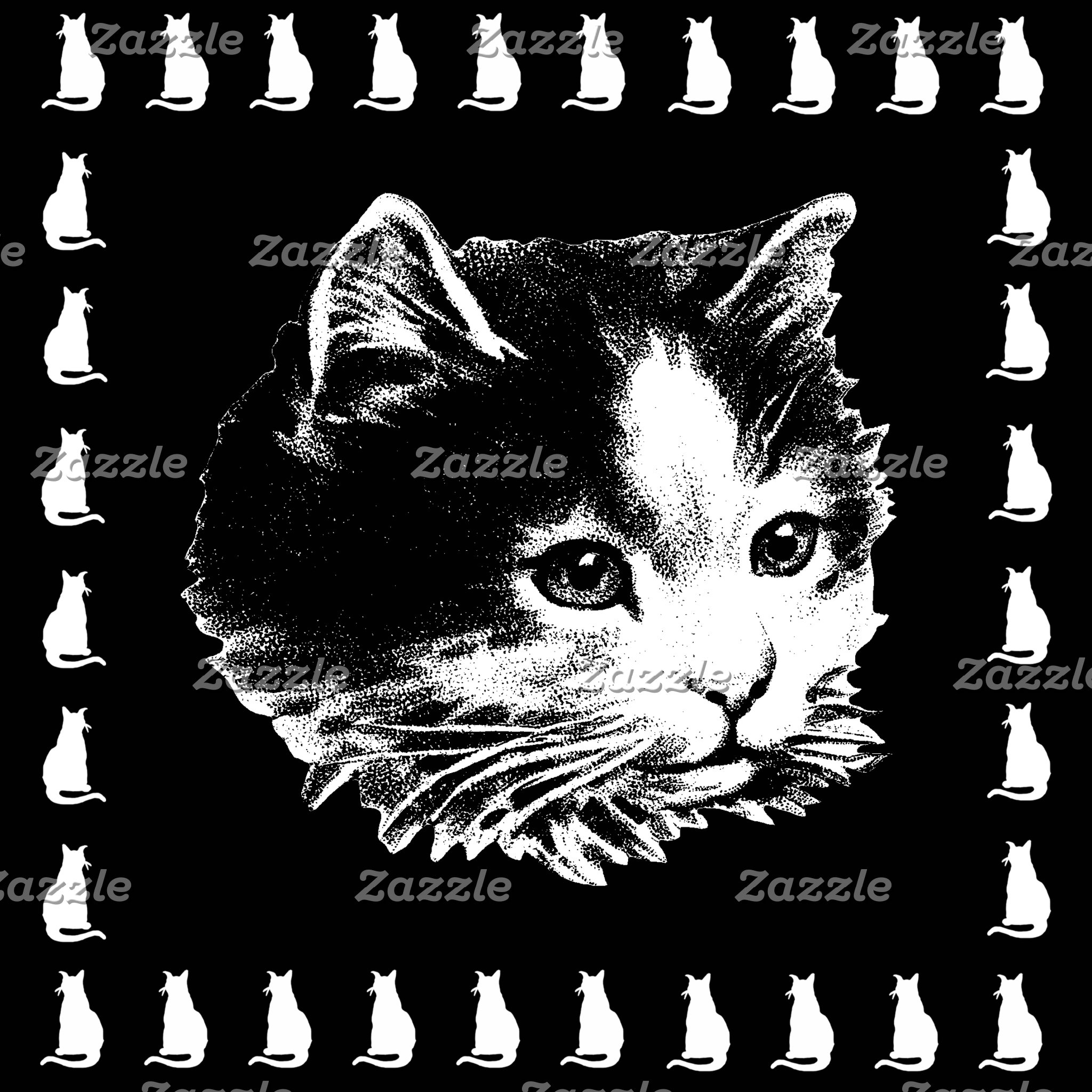 Cat Pillows and Kitten Pillows