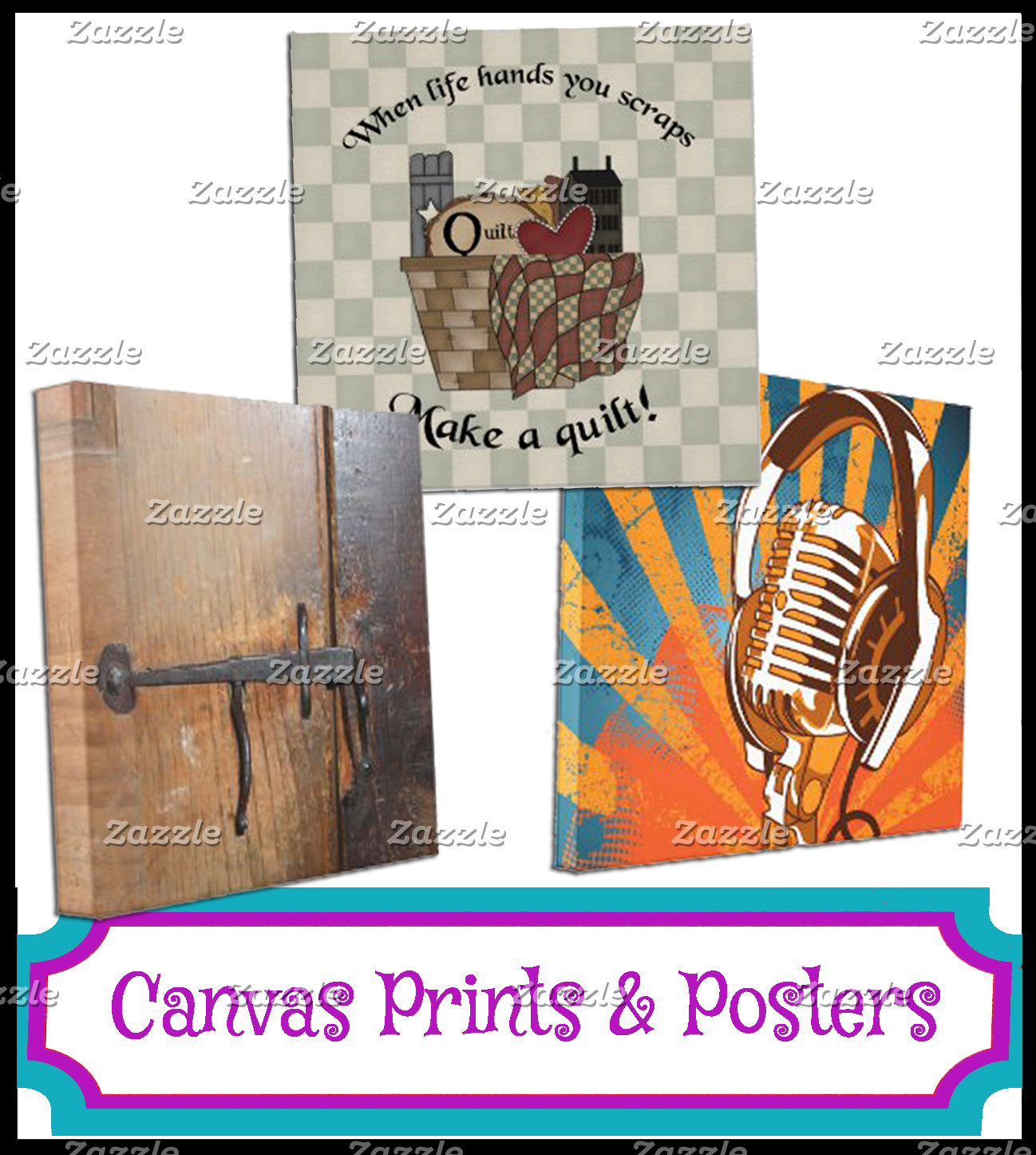 CANVAS PRINTS & POSTERS
