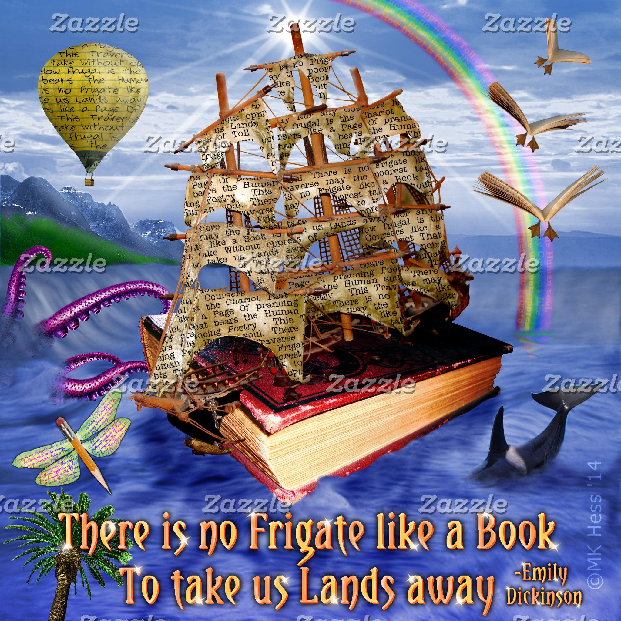 Dickinson Book Ship Scene