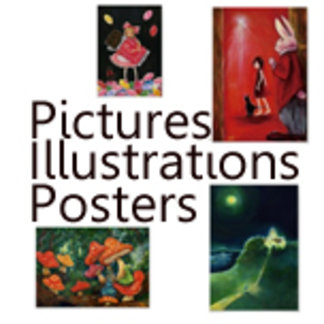 絵画ポスターPictures・Illustrations・Posters