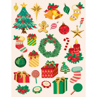 28 Christmas Icons Pattern