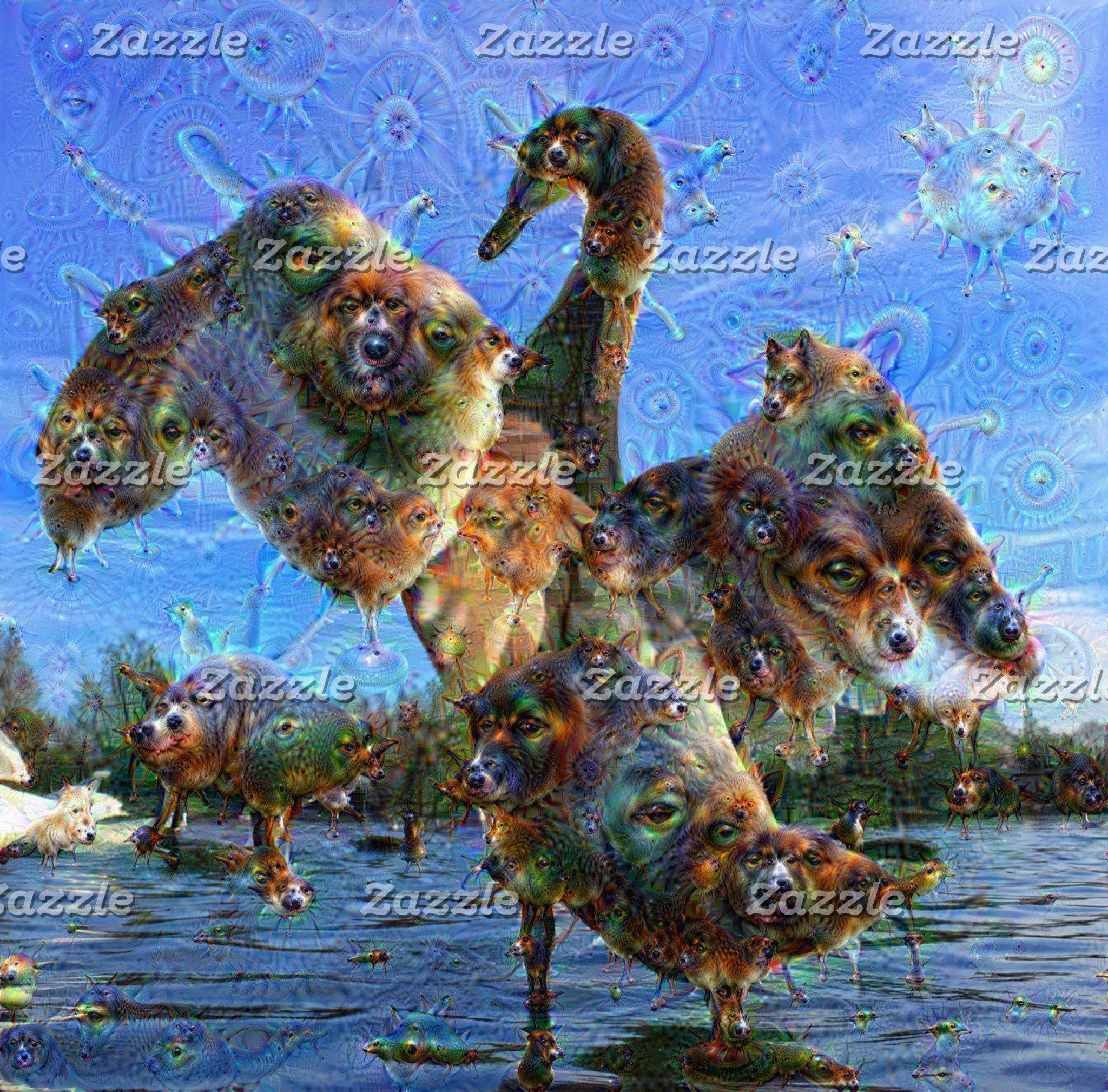 DeepDream Creatures ...