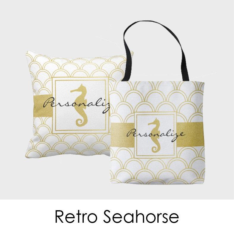 Retro Seahorse