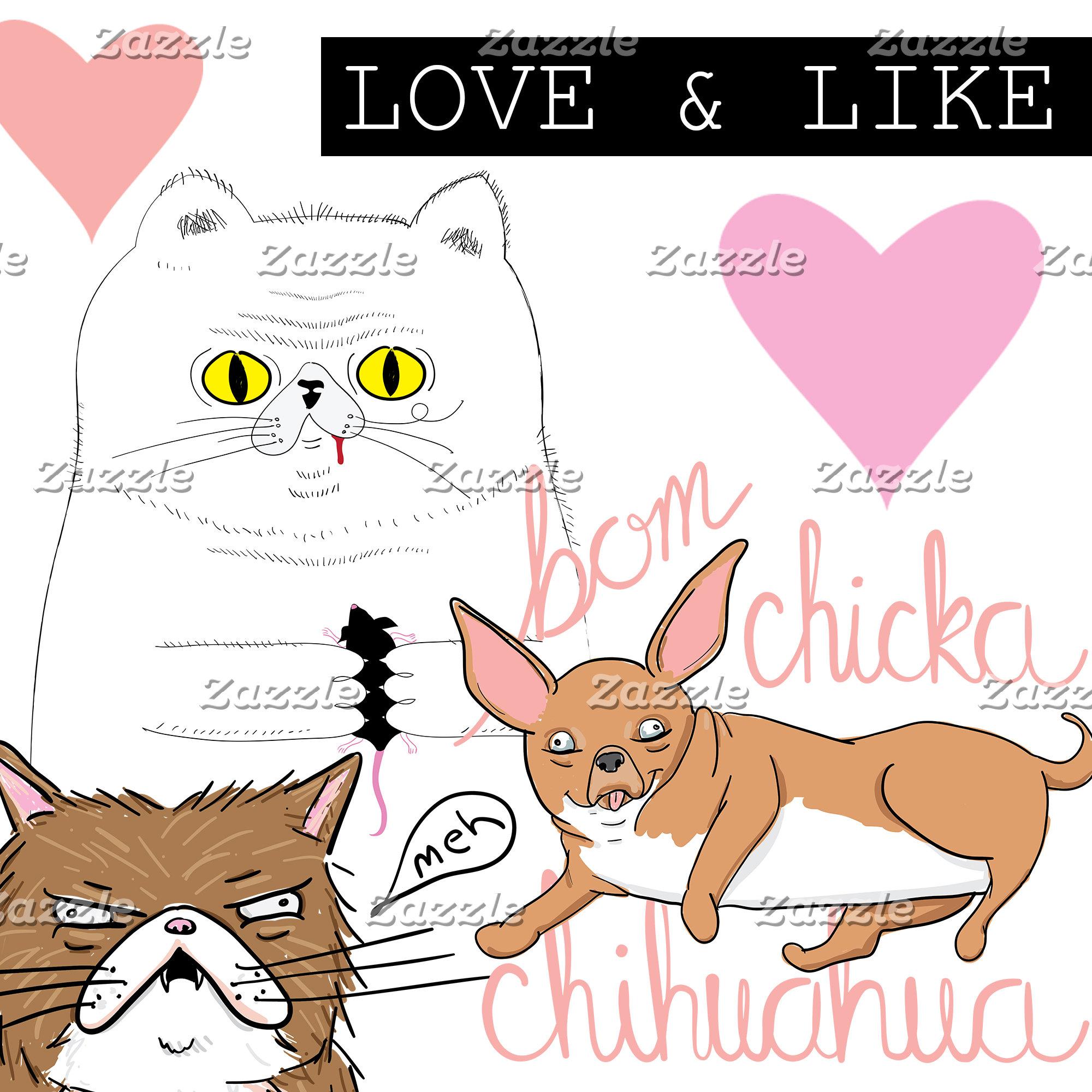 Love & Like