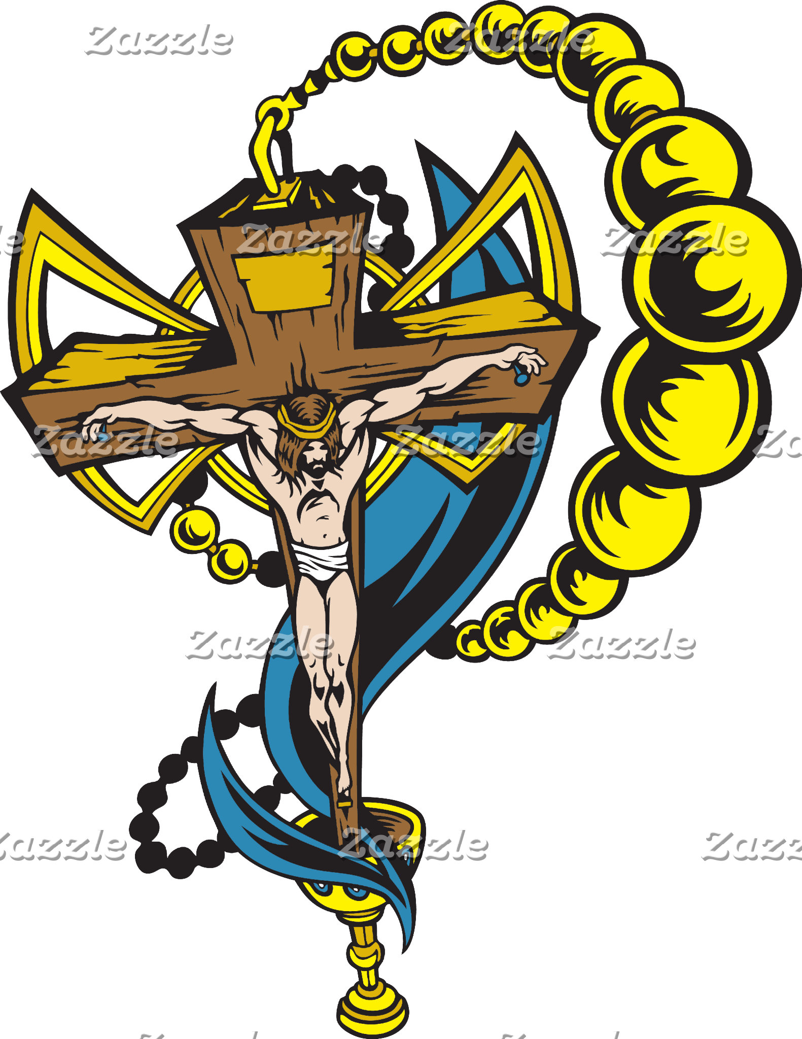 Christ, Crucifix and Cup