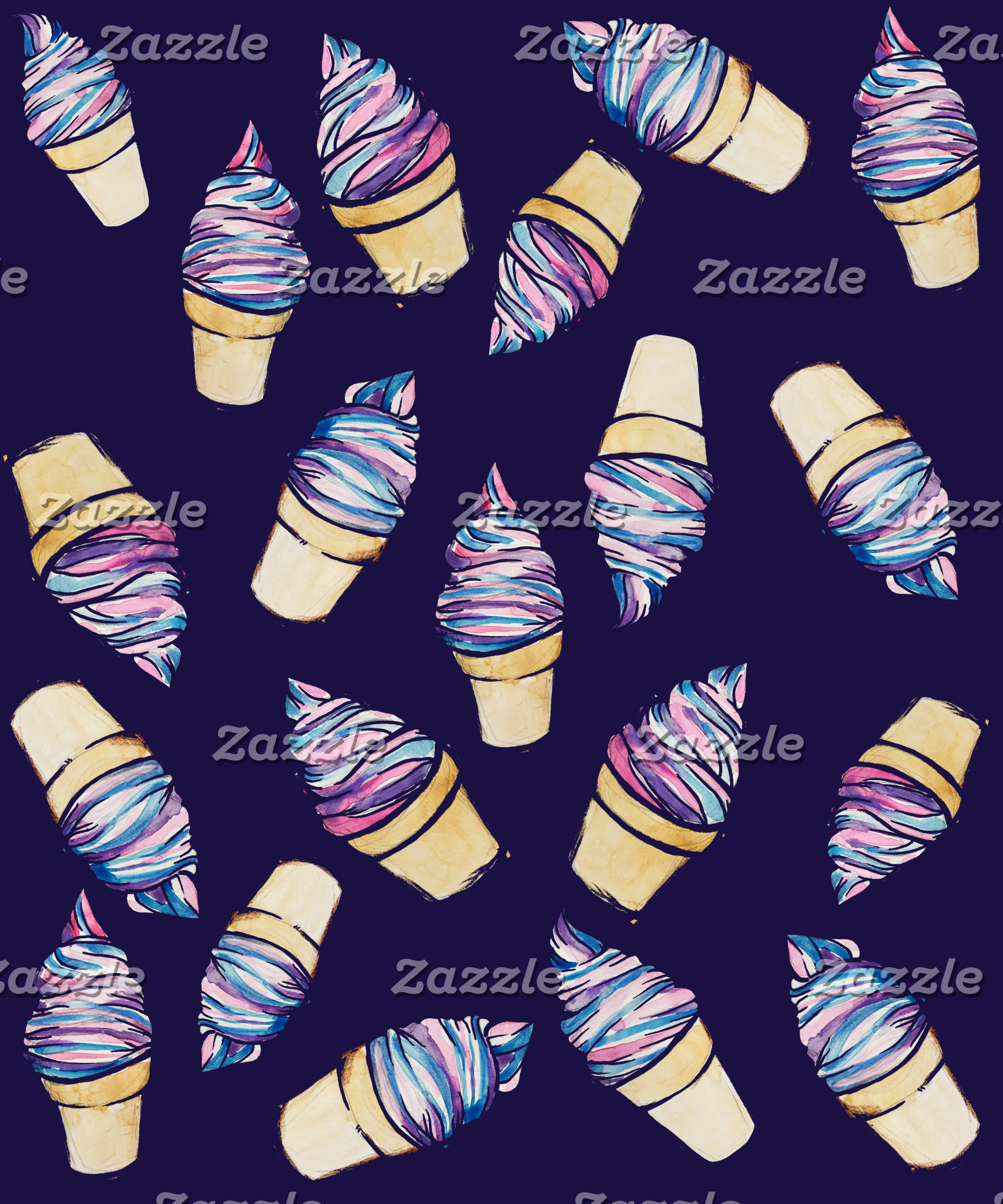 Ice Cream Cone retro dreams