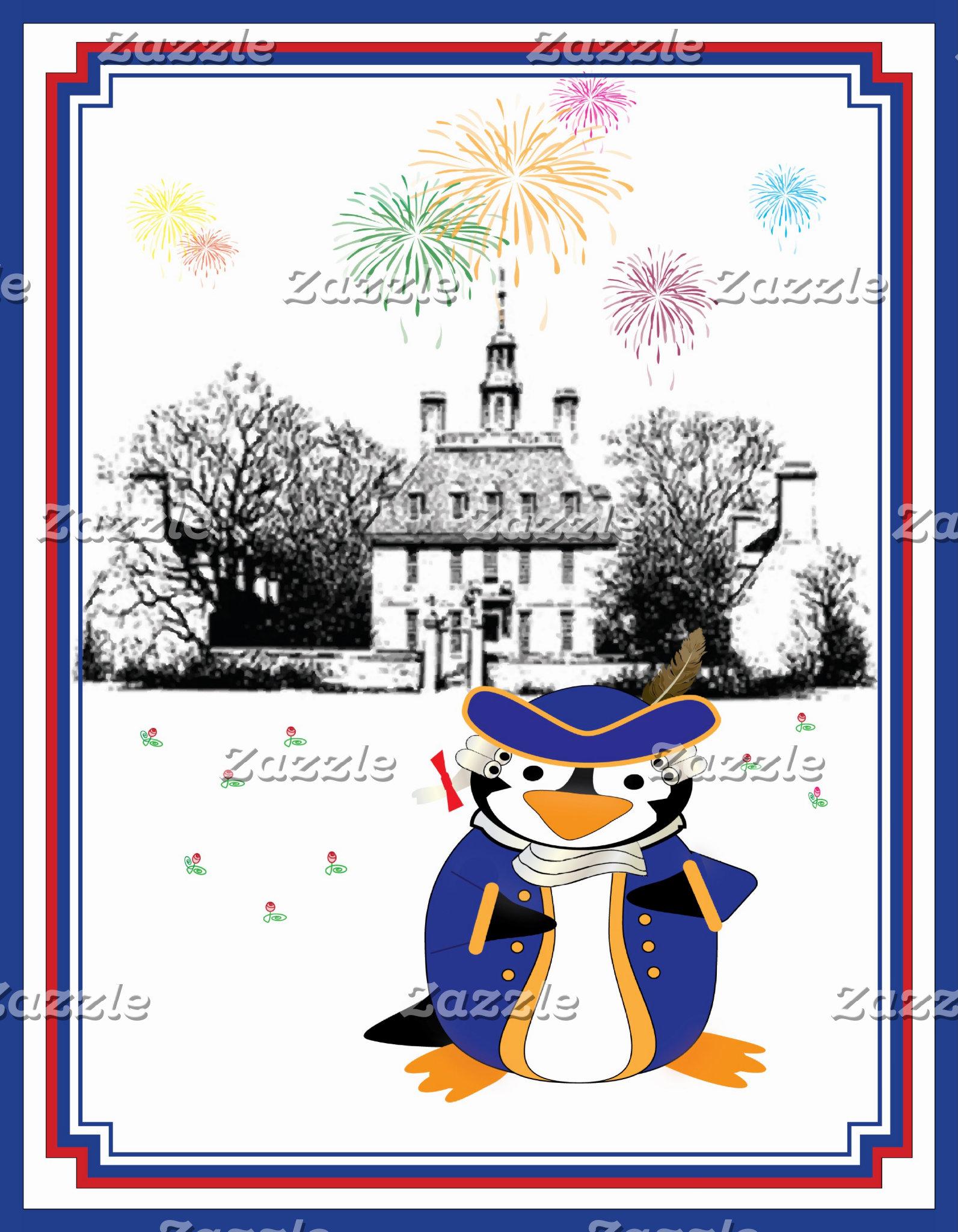 Yankee Doodle Penguin