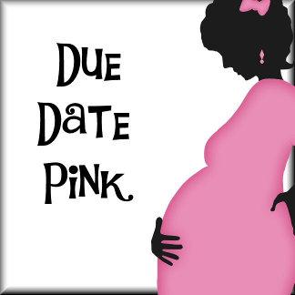 Due Date Pink Blanket