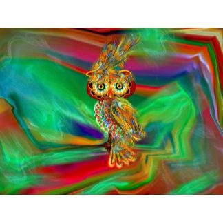Tropical Fashion Queen Owl