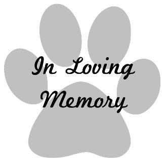 Pet Memorial/Sympathy