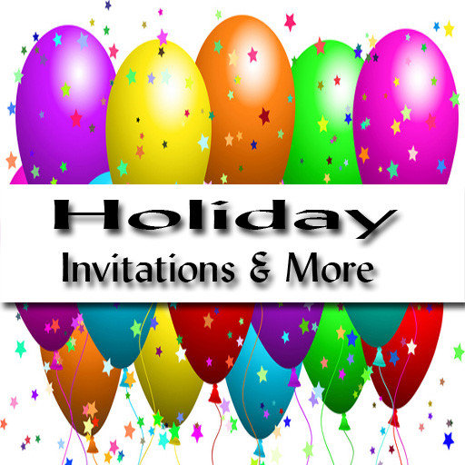 Holiday Invitations and Party Supplies