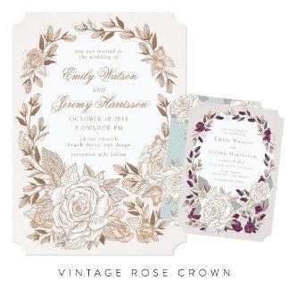 Vintage Rose Crown