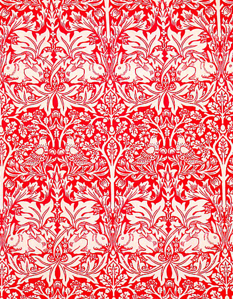 William Morris Brother Rabbit in Red