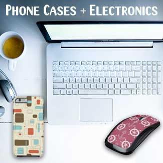Phone Cases + Electronics