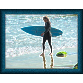 Little Surfer Girl