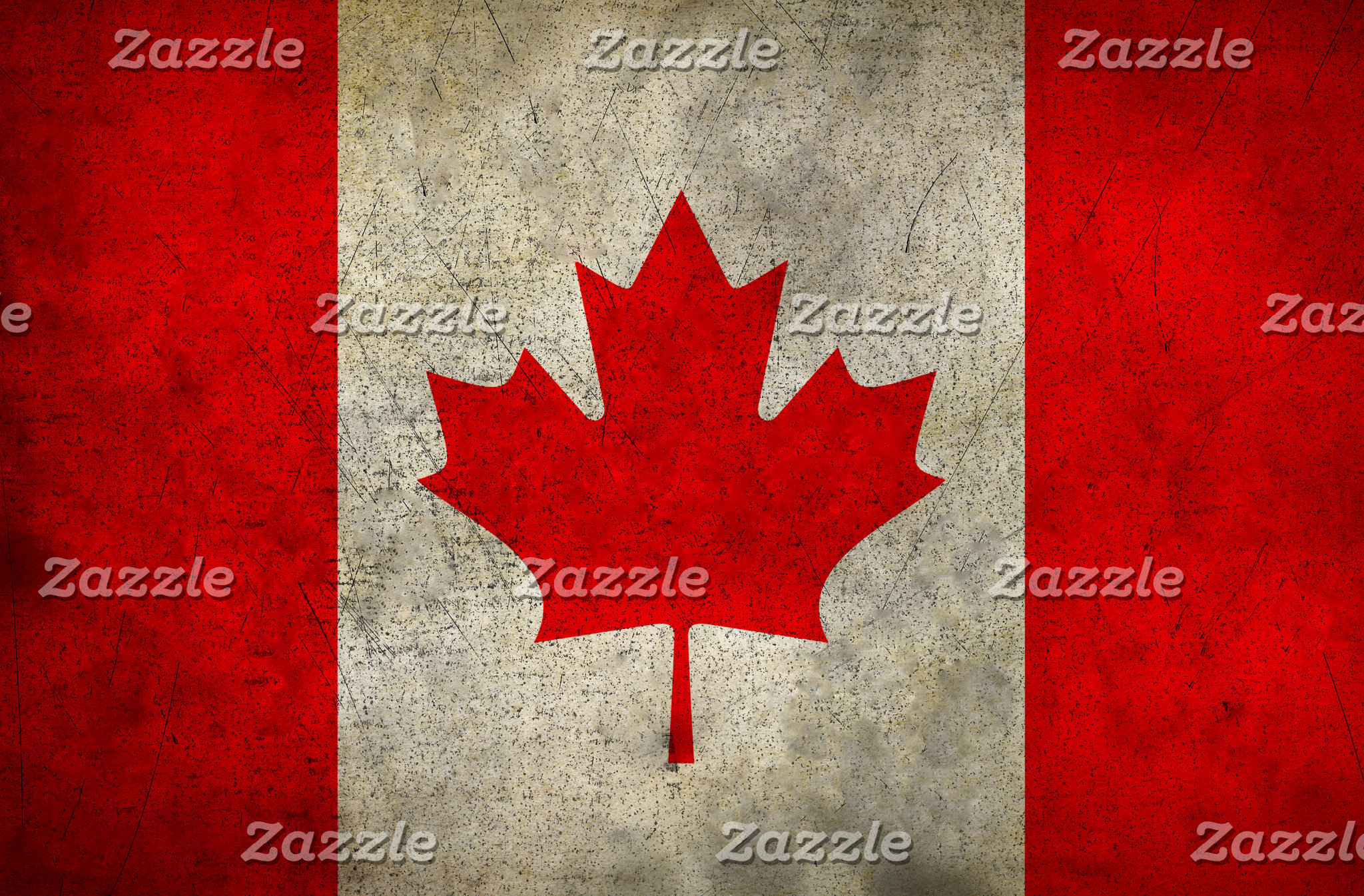 Canadian Maple Leaf Flag (Antique)