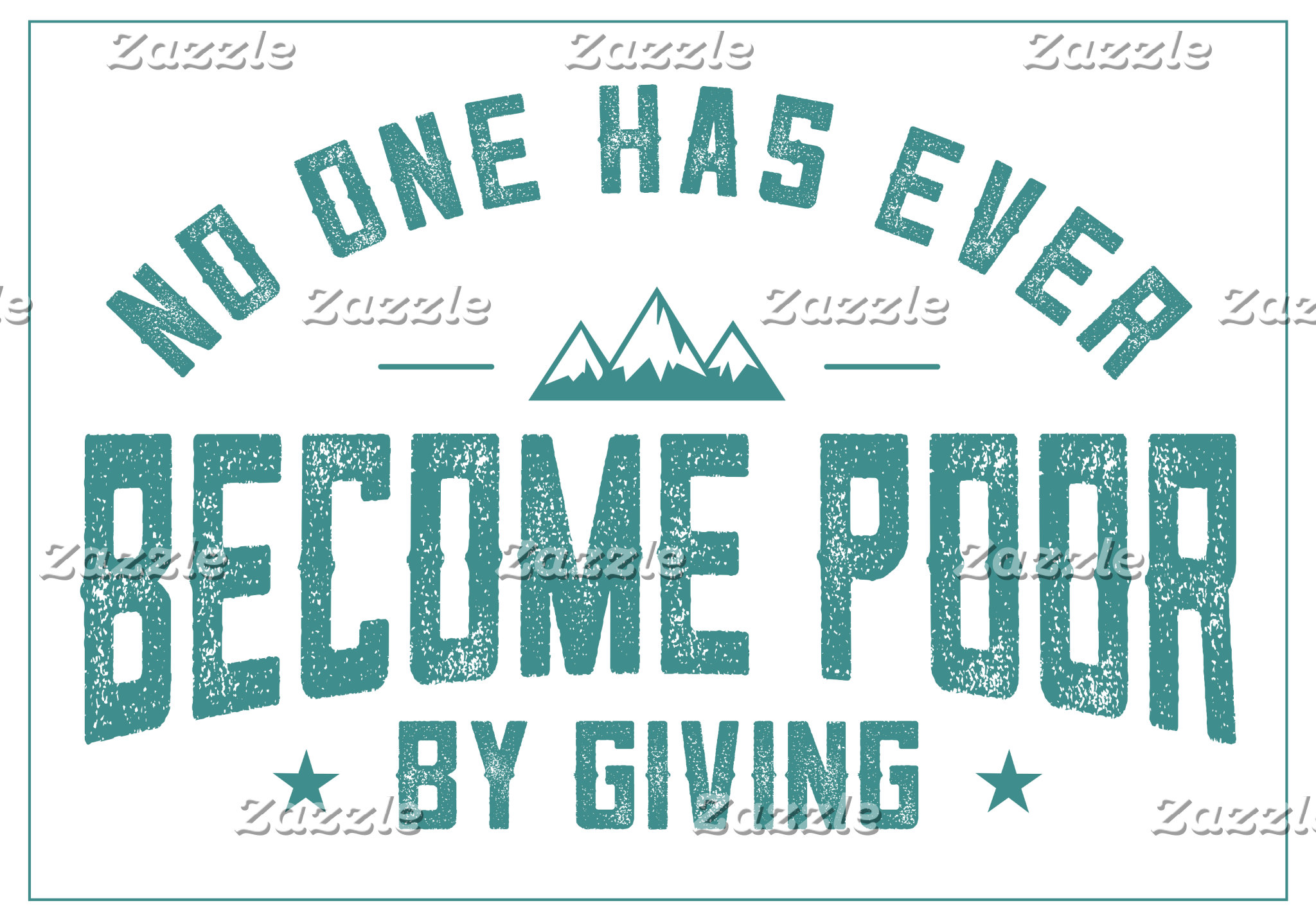By Giving