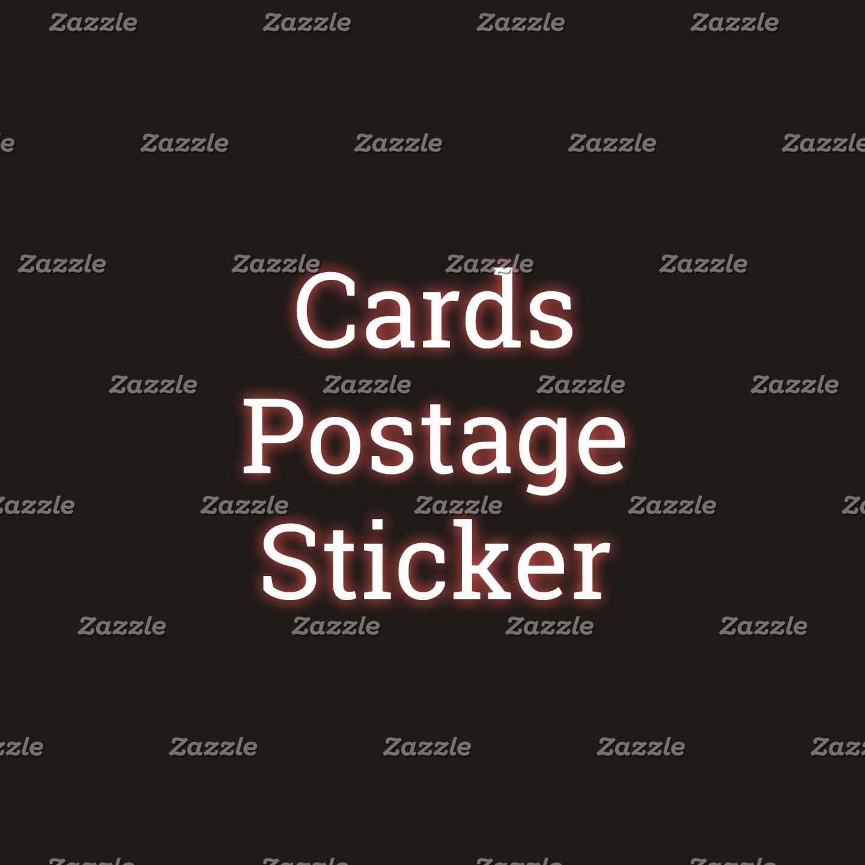 Cards&Postage&Sticker