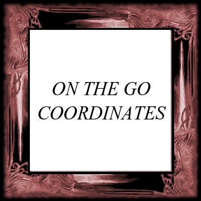 ON THE GO COORDINATES
