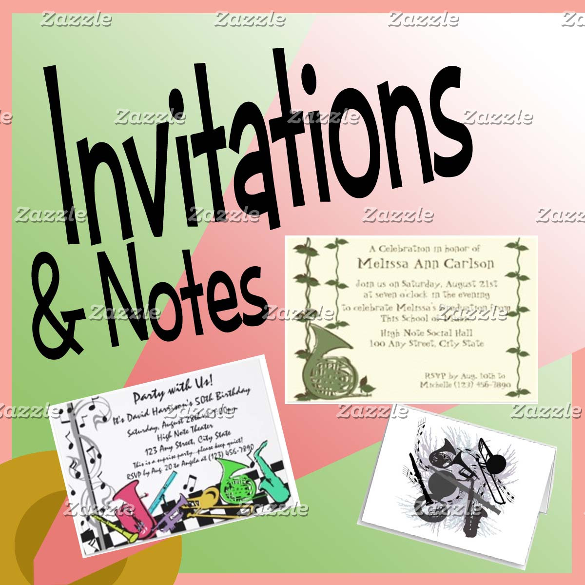 Invitations and Notes