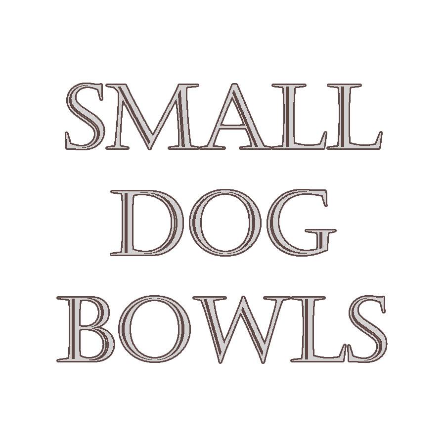 Small Dog Bowls