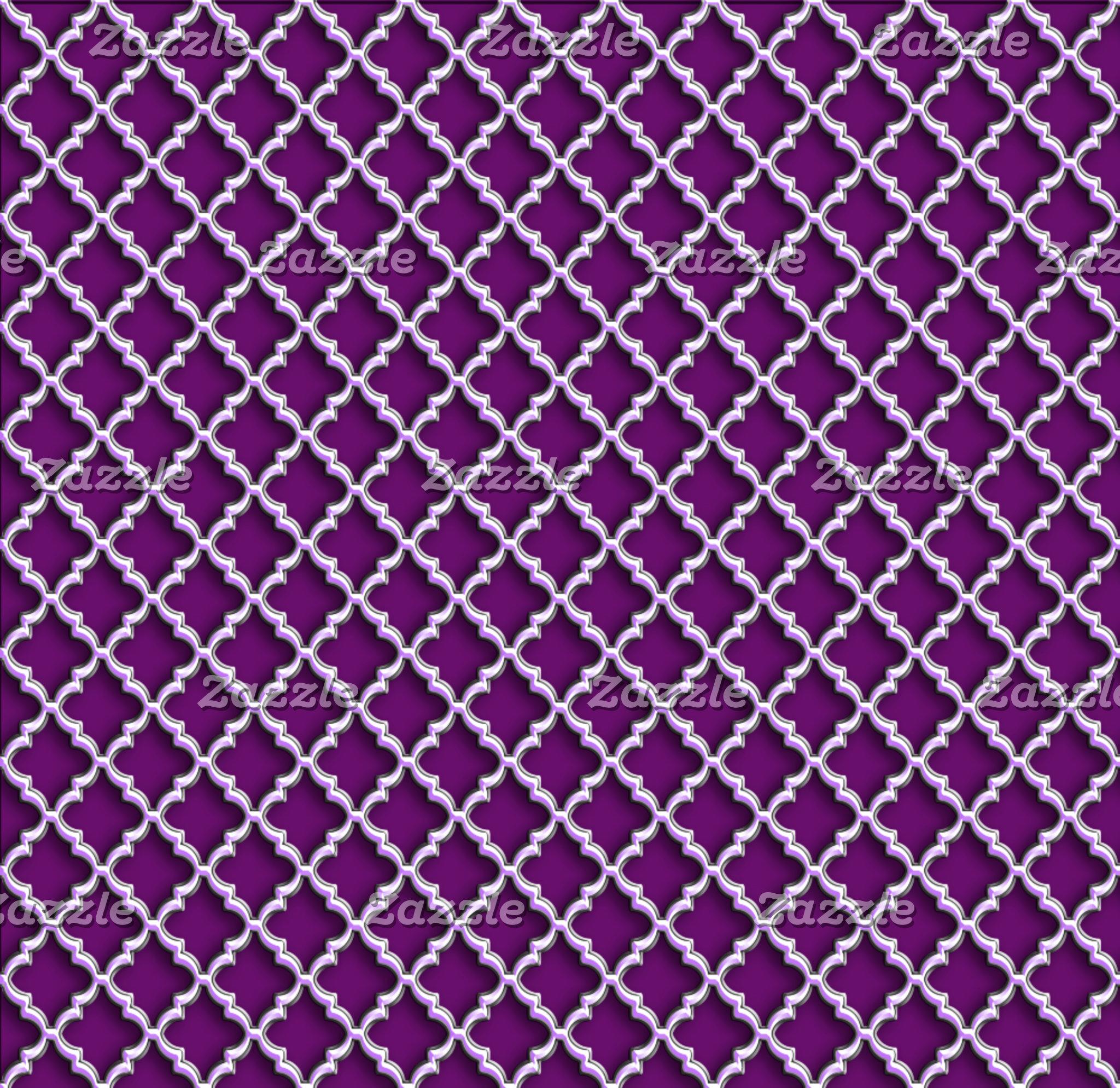 ► Quatrefoil Pattern