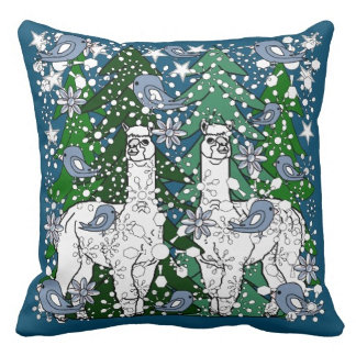 Alpacas Winter Home Decor Products