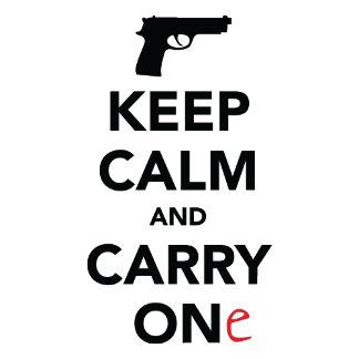 Keep Calm and Carry One (Gun)