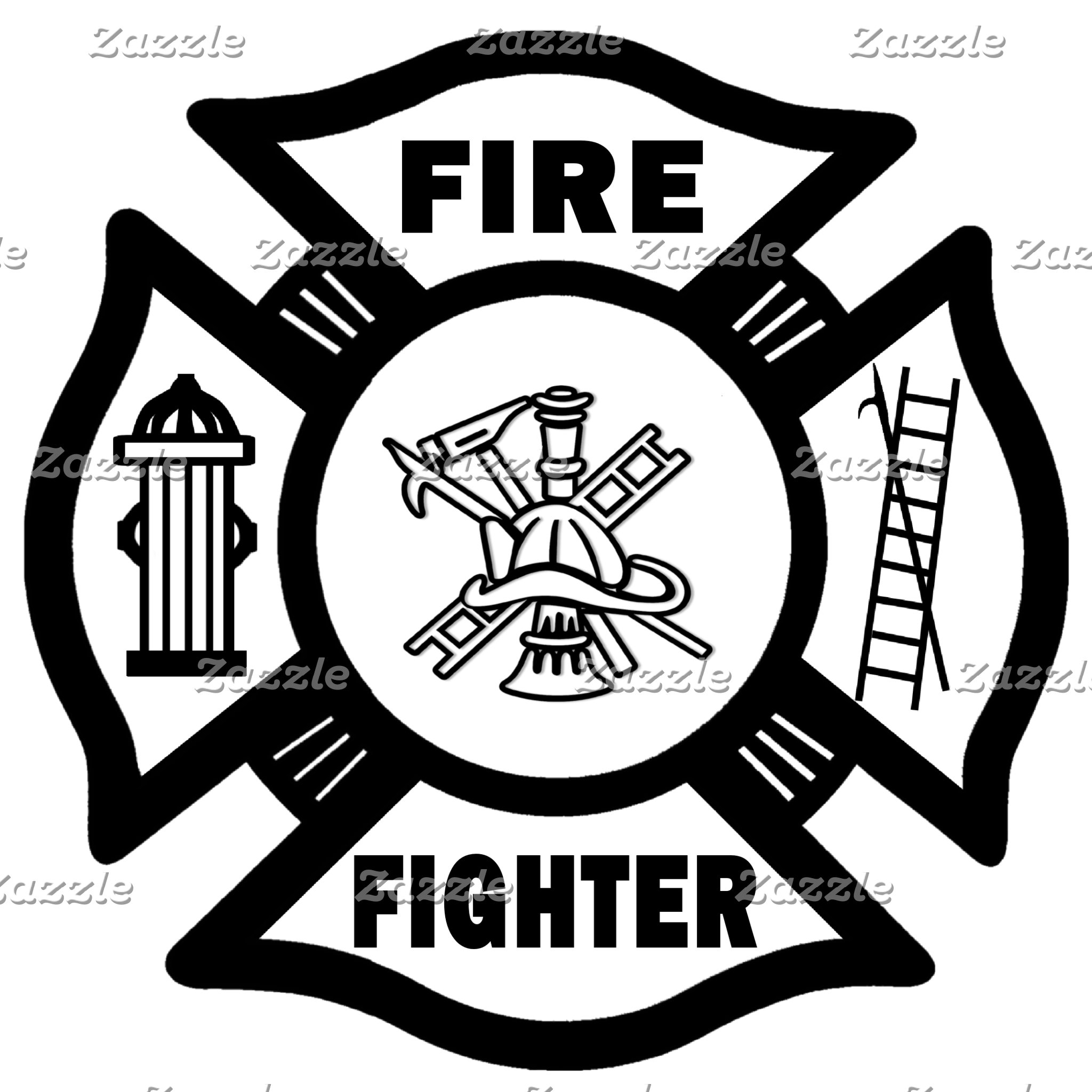 Fire Fighter Maltese Cross
