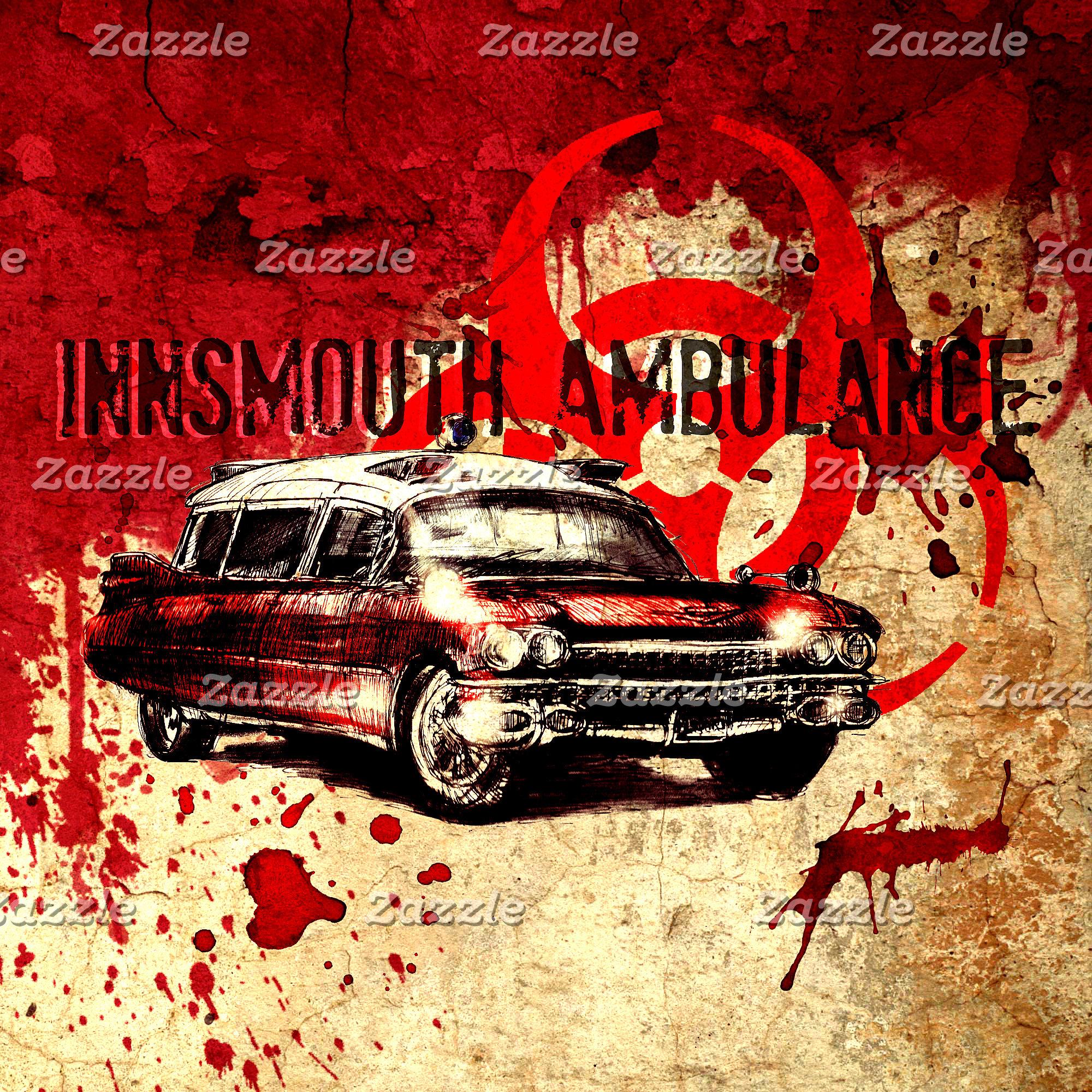 Lovecraft Style Horror Ambulance