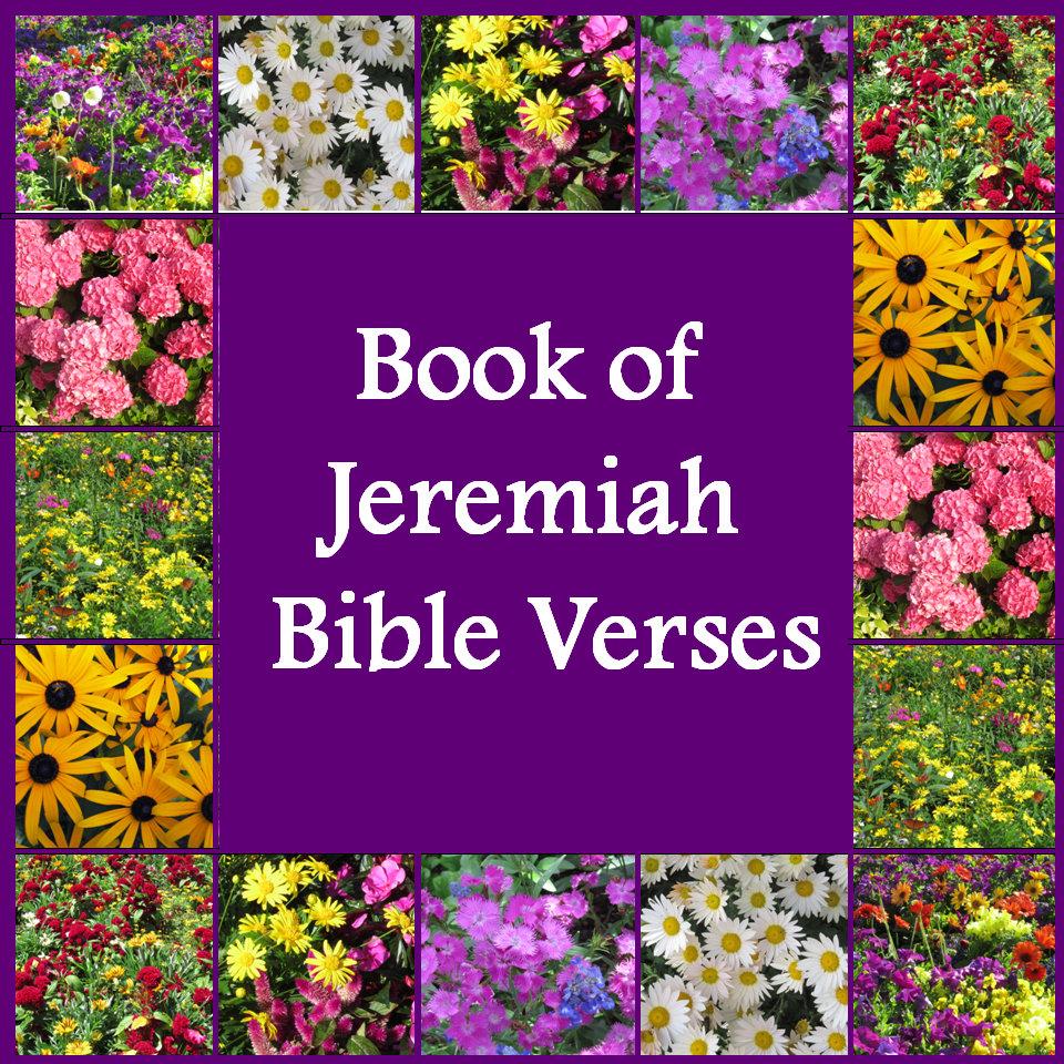 Jeremiah Bible Verses