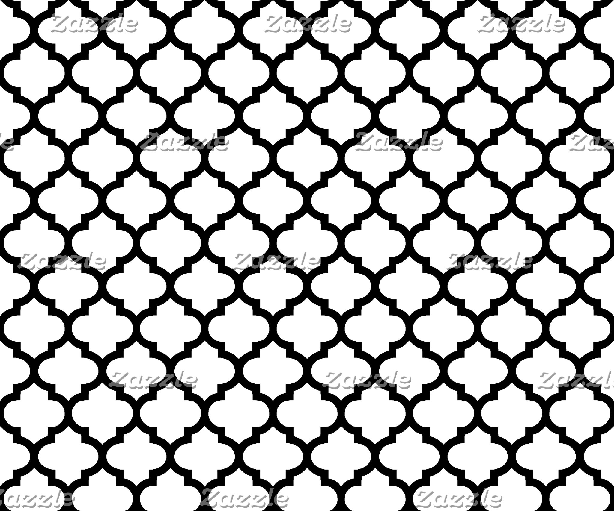 Lattice / Trellis / Quatrefoil
