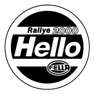 Hello Fella Rally Lights