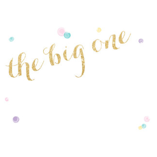 The Big One - First Birthday