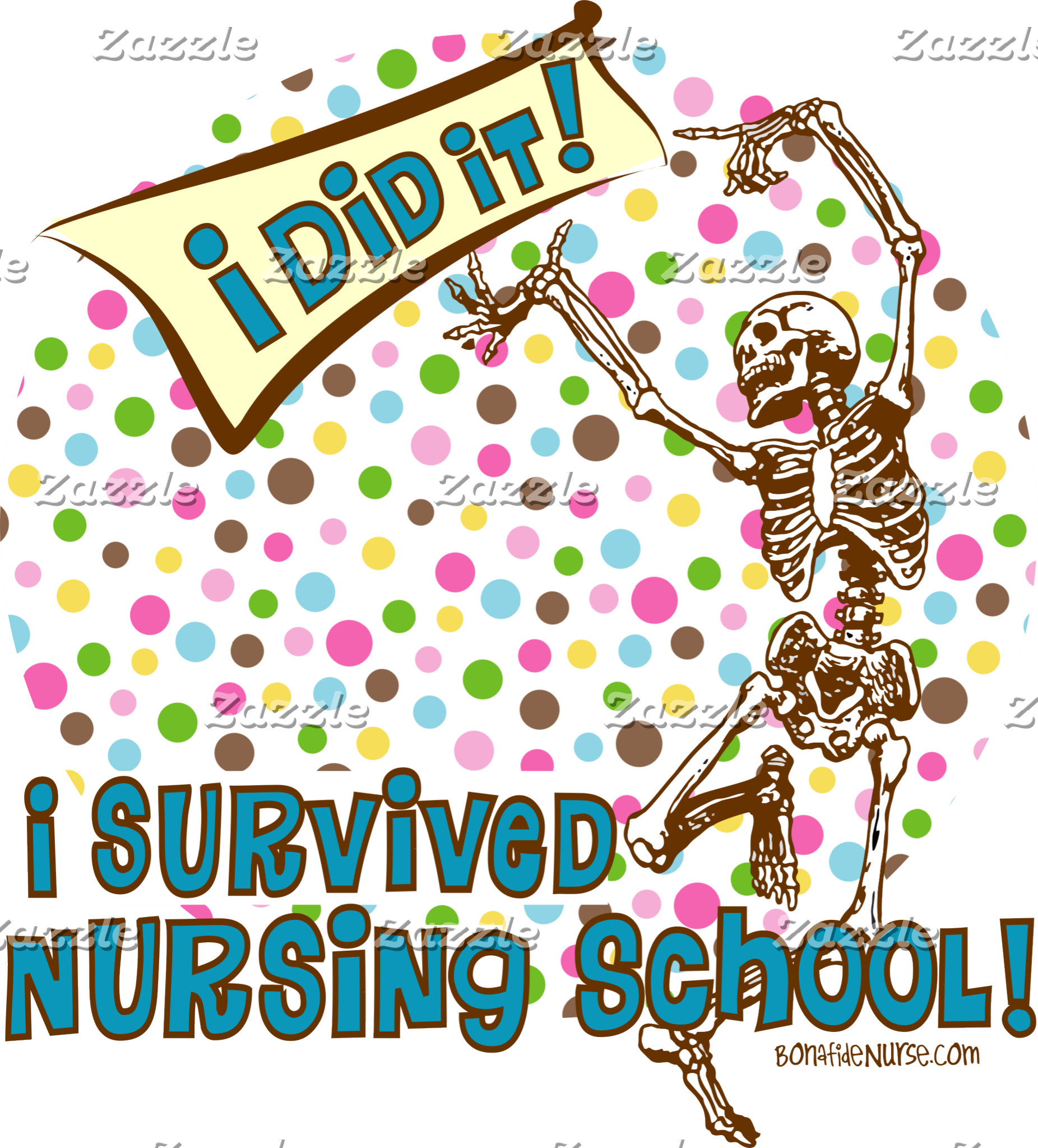 Dancing Skeleton Nursing School Survivor
