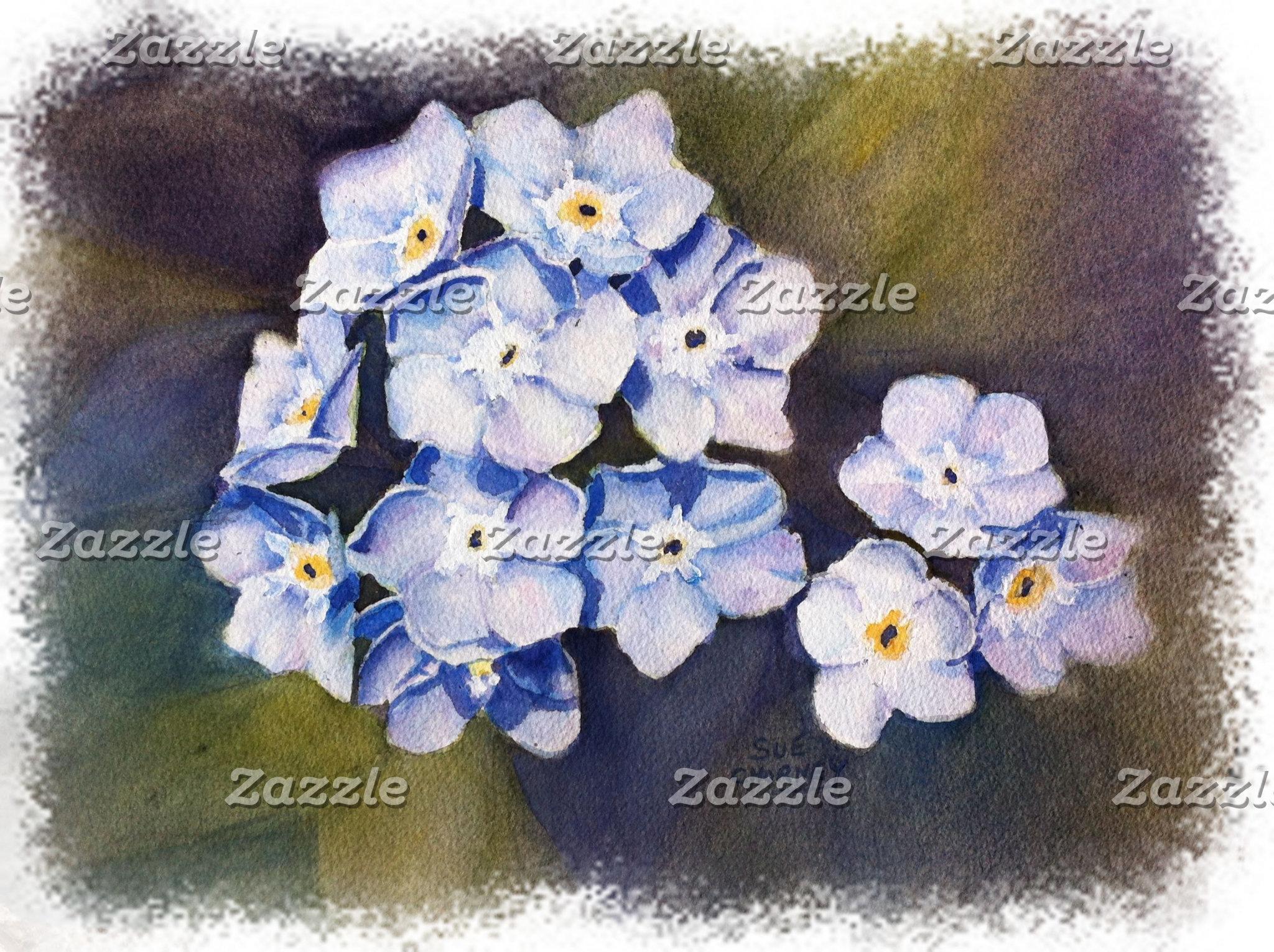 Forget-me-nots - BLUE / PURPLE