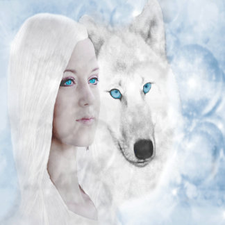 Snow Queen White Wolf