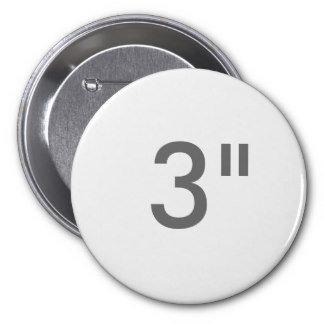 """3"""" ZAZZLE Badges LARGE"""