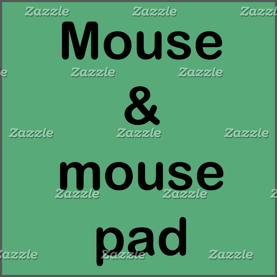 Mouse&mouse pad